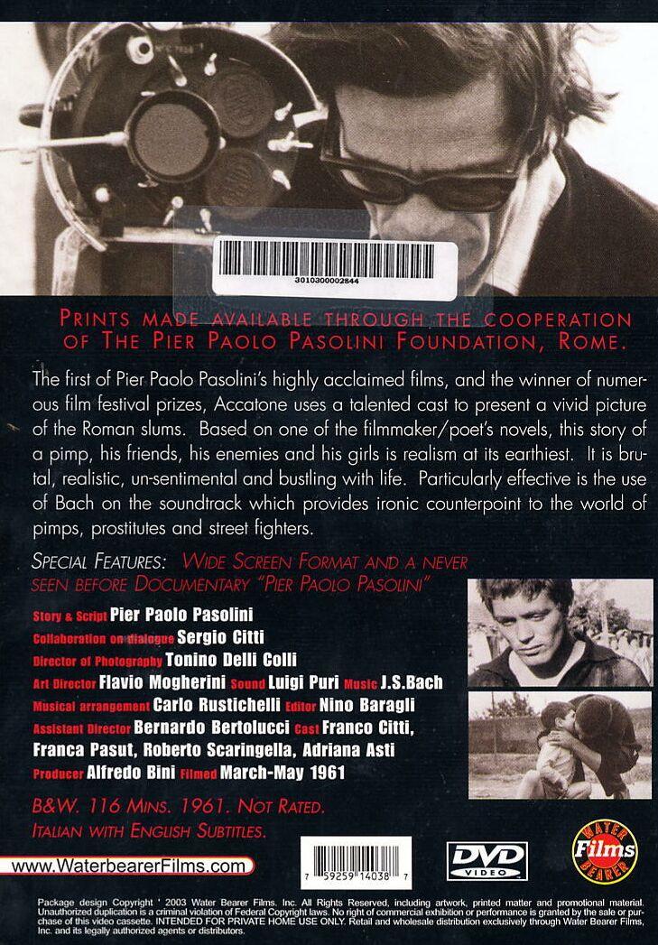 pasolini film soundtrack